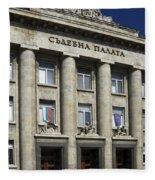 Ruse Bulgaria Courthouse Fleece Blanket