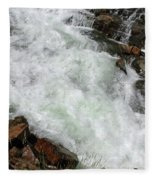 Rushing Waters Glen Alpine Creek Fleece Blanket
