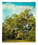 Ruskin Oak Fleece Blanket