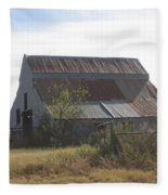 Rusted Barn Fleece Blanket