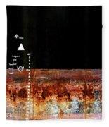 Rusted Layer Fleece Blanket