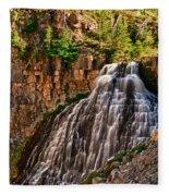 Rustic Falls Fleece Blanket