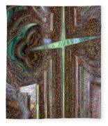 Rusty Cross Fleece Blanket