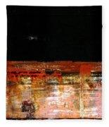 Rusty Layers Fleece Blanket