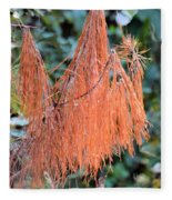 Rusty Needles Fleece Blanket