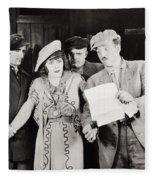 Ruth Of The Rockies, 1920 Fleece Blanket