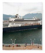 Ryndam Vancouver Port 1 Fleece Blanket