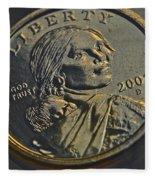 Sacagawea 2001 Fleece Blanket