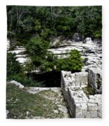 Sacred Cenote Fleece Blanket