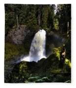 Sahalie Falls Fleece Blanket