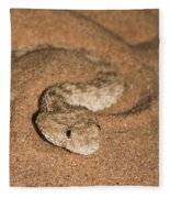 Sahara Sand Viper Cerastes Vipera Fleece Blanket