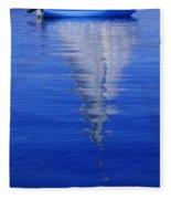 Sailboat On Water Fleece Blanket