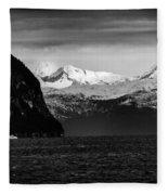 Sailing To Valdez Fleece Blanket