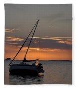 Sailor's Sunset Fleece Blanket