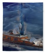 Sails Down Fleece Blanket