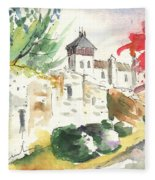 Saint Bertrand De Comminges 04 Fleece Blanket