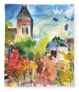 Saint Bertrand De Comminges 05 Fleece Blanket
