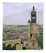 Saint Etienne Du Mont Fleece Blanket