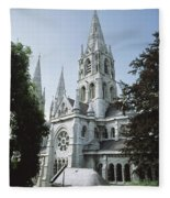 Saint Finbarres Cathedral, Cork City Fleece Blanket