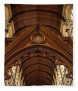 Saint Marys Church Interior 1 Fleece Blanket
