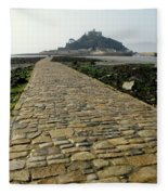 Saint Michael's Mount Fleece Blanket