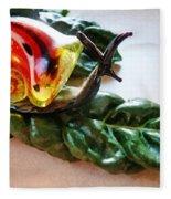Salad Dressing Fleece Blanket