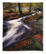 Sally Gap, County Wicklow, Ireland Fleece Blanket