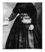 Sally Tompkins (1833-1916) Fleece Blanket