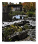 Salmon Falls Sfp Fleece Blanket