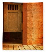 Saloon Doors Fleece Blanket