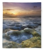 Salty Pool Fleece Blanket