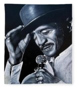 Sammy Davis Jr Fleece Blanket