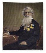 Samuel F.b. Morse (1791-1872) Fleece Blanket