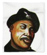 Samuel L Jackson Fleece Blanket