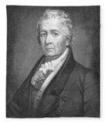 Samuel Latham Mitchill Fleece Blanket
