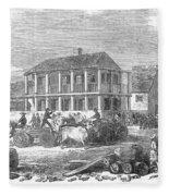 San Francisco, 1850 Fleece Blanket