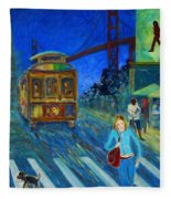 San Francisco Moments Fleece Blanket