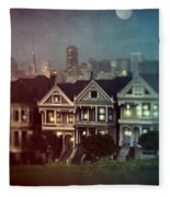 San Francisco Night Fleece Blanket