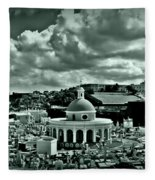 San Juan Cemetey 2 Fleece Blanket