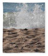Sand And Surf Fleece Blanket