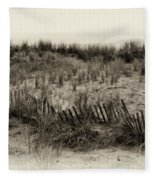 Sand Dune In Sepia Fleece Blanket