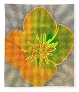Sand Flower Fleece Blanket