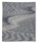 Sand Patterns 2 Fleece Blanket