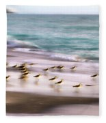 Sandpiper Evening Fleece Blanket