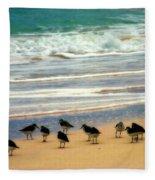 Sandpipers Fleece Blanket