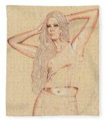 Sandra Fleece Blanket