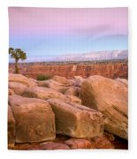Sandstone Puzzle Fleece Blanket