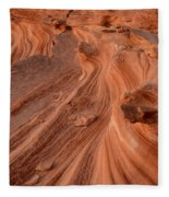 Sandstone Waves Little Finland Fleece Blanket