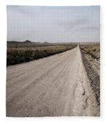 Sandy Road Fleece Blanket