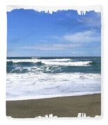 Sandy Shores Of Oregon Fleece Blanket